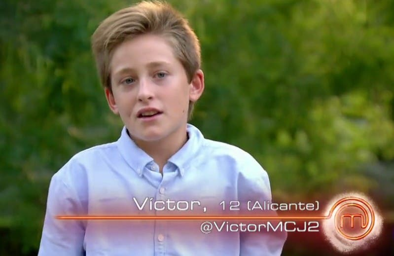Spain's junior MasterChef causes outrage with sexist 'genetics' quip