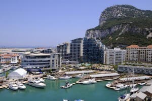 OCEAN VILLAGE IN GIBRALTAR