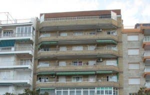 LIVING THE HIGH LIFE: Apartment blocks continue to spring up across Spain