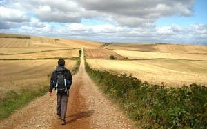 Maggie is set to walk 1,300km as part of her third Camino