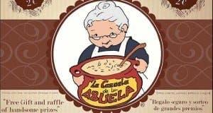 Grandma's casserole food festival poster