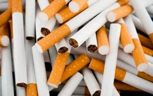 A 'significant' amount of tobacco was seized