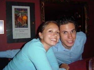 Katie Haines and Adam Samuel