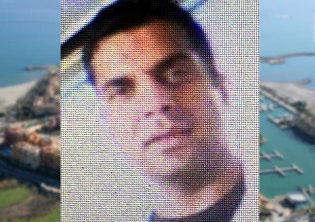 OLIVE PRESS EXCLUSIVE: First picture of one-punch expat 'Victor' Kainth who killed alleged German paedophile in Spain. Copyright: www.theolivepress.es