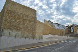 Medina Sidonia's 'muralla salada' town wall project