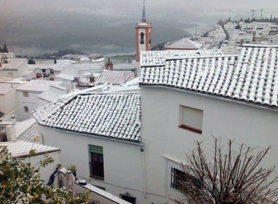 snow cortes de la fontera feb