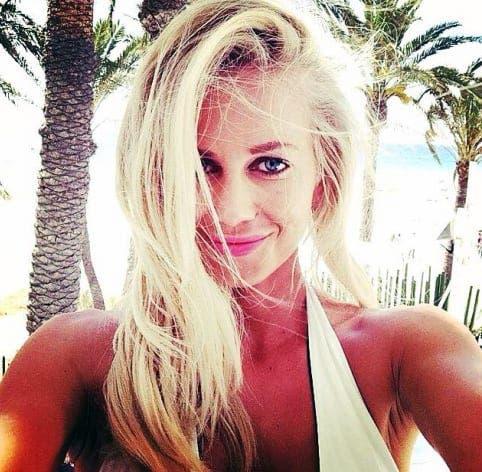The 'blonde bombshell' partner of British killer Victor Kainth