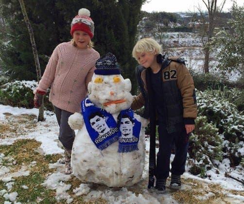 spanish snowman ronaldo de ronda e