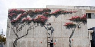 Estepona gets new mural from record-breaking mural painter Jose Fernandez Ros