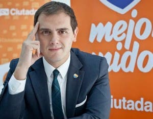 Ciudadanos leader Albert Rivera