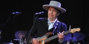US legend Bob Dylan performs on stage du