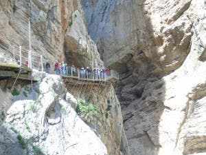 Revamped Caminito del Rey