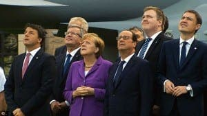 STAR CAST: European leaders focus of mockumentary