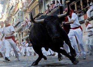 Fiesta+De+San+Fermin+Running+Bulls+Day+6+dGf5IG3YJakl
