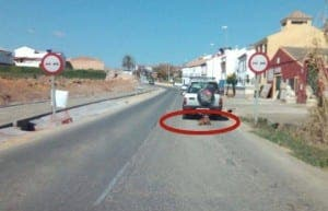 Dog dragged behind car in Sevilla