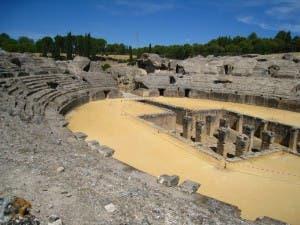 Italica_amphitheatre_Santiponce_Andalucia_Spain