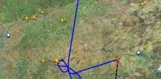 Malaga flight chaos e