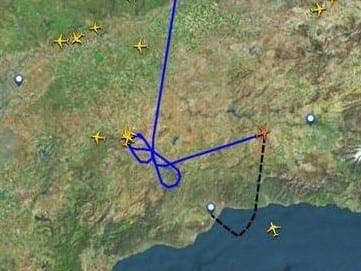 Flight diverted to Granada