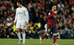 La Liga stars Ronaldo and Messi