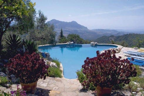 BEAUTIFUL: El Nobo's pool has been hailed as one of the best in Andalucia