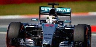 Lewis Hamilton Spanish F Grand Prix Barcelona