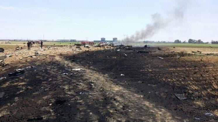 militray plane crash sevilla