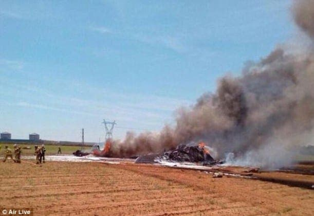 sevilla military plane crash