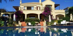 LUXURY: Sugar's Marbella villa