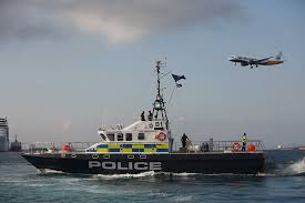 Gibraltar police boats