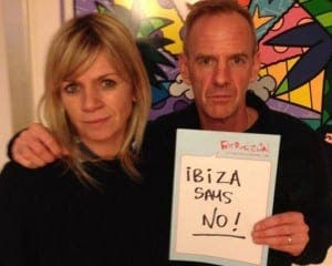 Zoe Ball and Fatboy Slim