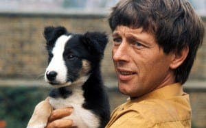 Noakes with famous Blue Peter dog