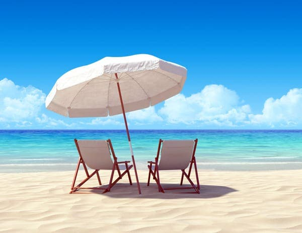 beach paradise chairs