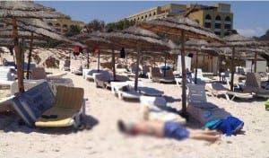 Photo from Instagram of Tunisian resort
