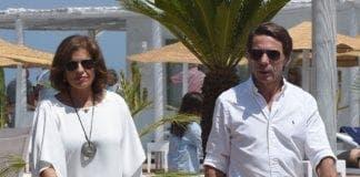Ana Botella celebrates birthday with golf in Marbella