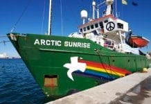 Arctic Sunrise in Libya  e