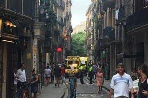 Barcelona shooting