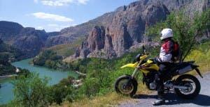 Offroad motorbike