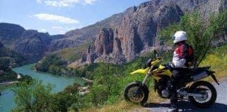Offroad motorbike e