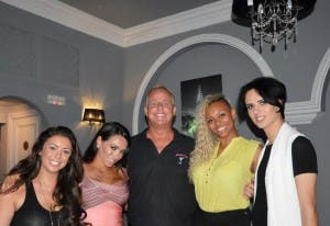 Life on Marbs cast at bar Arcos