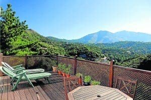 BREATH-TAKING: View from this €299,000 Casares country house