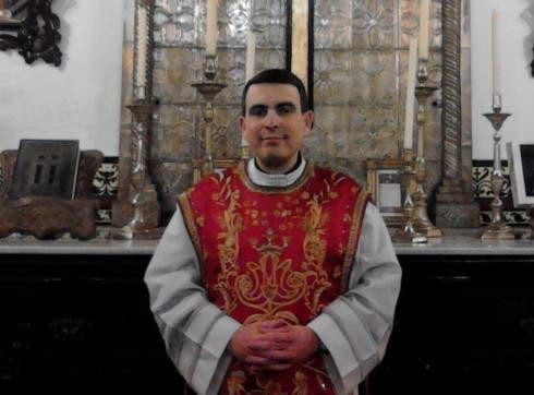 Priest Santiago Cesar Gonzalez Alba
