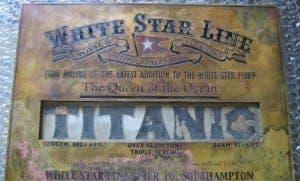 titanic relic