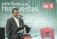 Molina en un mitin del PSOE en elecciones pasadas G