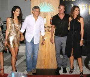 George Clooney Party, UshuaÔa Ibiza Beach hotel, Ibiza, Spain - 23 Aug 2015