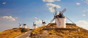 Castilla-La Mancha's famous countryside
