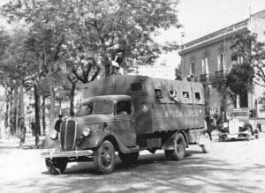 Spanish Civil War lorry