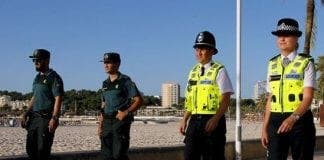 british police officers e
