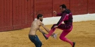 bullfighting protest e