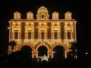 The feria in Almeria