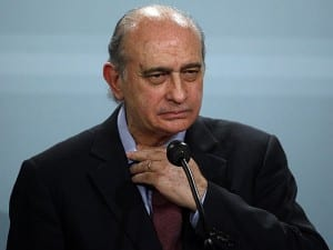 Interior Minister Jorge Fernandez Diaz